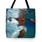 Dancing In The Sea Tote Bag