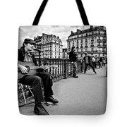 Dancing In The Streets Of Paris / Paris Tote Bag