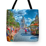 Dancing In The Streets Tote Bag