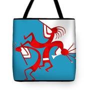 Dancing Kokopellis Tote Bag
