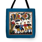 Dancing Men 4 Tote Bag