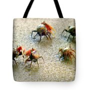 Dancing Of The Fiddlers Tote Bag