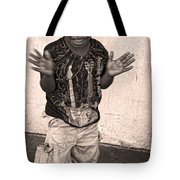 Dancing' On Decatur For Dollars Tote Bag