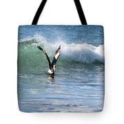 Dancing On The Waves Tote Bag
