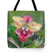 Dancing Orchid I Tote Bag