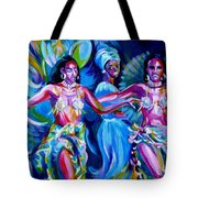 Dancing Panama Tote Bag