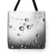 Dancing Raindrops Tote Bag