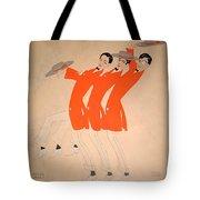 Dancing Song Tote Bag