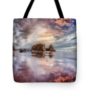 Dancing Sunset Tote Bag