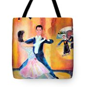 Dancing Through Time Tote Bag