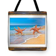Dancing To The Beat Of The Sea Tote Bag