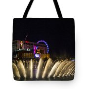 Dancing Waters 4 Tote Bag