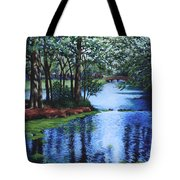 Dancing Waters Tote Bag
