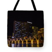 Dancing Waters Rear Shot Tote Bag