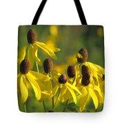 Dancing Wildflowers Tote Bag
