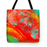 Dancing With Colors Tote Bag