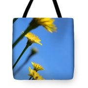 Dancing With The Flowers Tote Bag