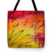 Dancing With The Sun Tote Bag