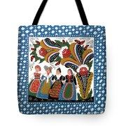 Dancing Women Tote Bag
