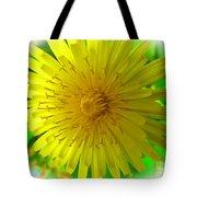 Dandelion Blossom Tote Bag