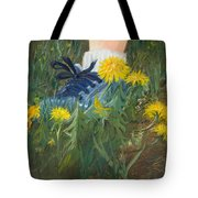 Dandelion Dance Tote Bag