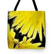 Dandelion Expressive Brushstrokes Tote Bag