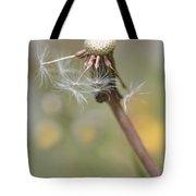 Dandelion Last To Fly Away Tote Bag