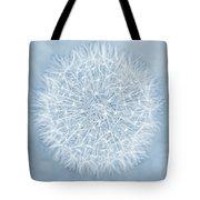 Dandelion Marco Abstract Blue Tote Bag