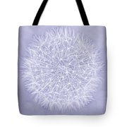 Dandelion Marco Abstract Lavender Tote Bag