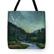 Dandelion Moon Tote Bag