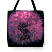 Dandelion Red Tote Bag