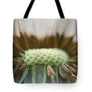 Dandelion Seed Macro Tote Bag