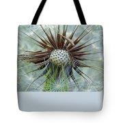Dandelion Seed Puff Tote Bag