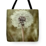 Dandelion Textures Tote Bag