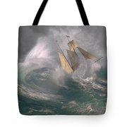 Danger At Sea Tote Bag