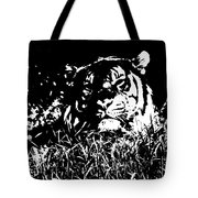 Danger In The Shadows Tote Bag