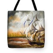 Dangerous Tides Tote Bag