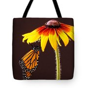Dangling Monarch Tote Bag by Jean Noren