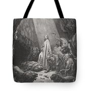 Daniel In The Den Of Lions Tote Bag