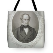 Daniel Webster, From The History Of The United States, Vol. II, By Charles Mackay, Engraved By T Tote Bag