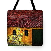 Danish Barn Impasto Version Tote Bag by Steve Harrington