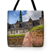 Danish Castle Kronborg Tote Bag