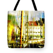 Danish Harbor Tote Bag