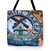Danish Mill Bakery In Solvang California Tote Bag