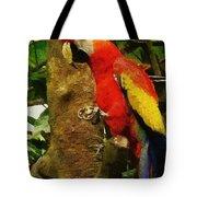 Danse Macaw Tote Bag