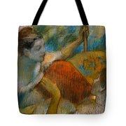 Danseuse A L'eventail Tote Bag by Edgar Degas