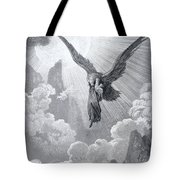 Dante And The Eagle Tote Bag