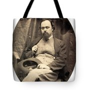 Dante Gabriel Rossetti English Poet Tote Bag by Photo Researchers