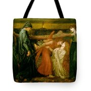 Dantes Dream At The Time Of The Death Of Beatrice 1856 Tote Bag