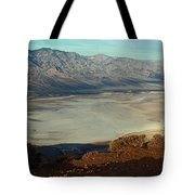 Dante's View Panorama Tote Bag